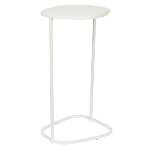 Moondrop Single lerakóasztal, fehér