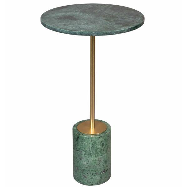 Gunnar lerakóasztal, zöld márvány