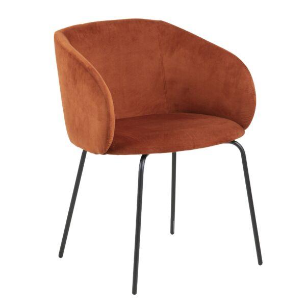 Hven 75 szék, rozsdabarna