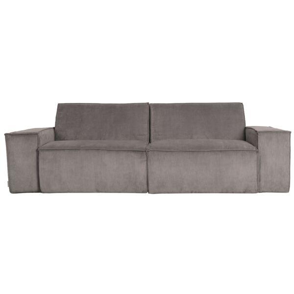 James 2 üléses kanapé, szürke