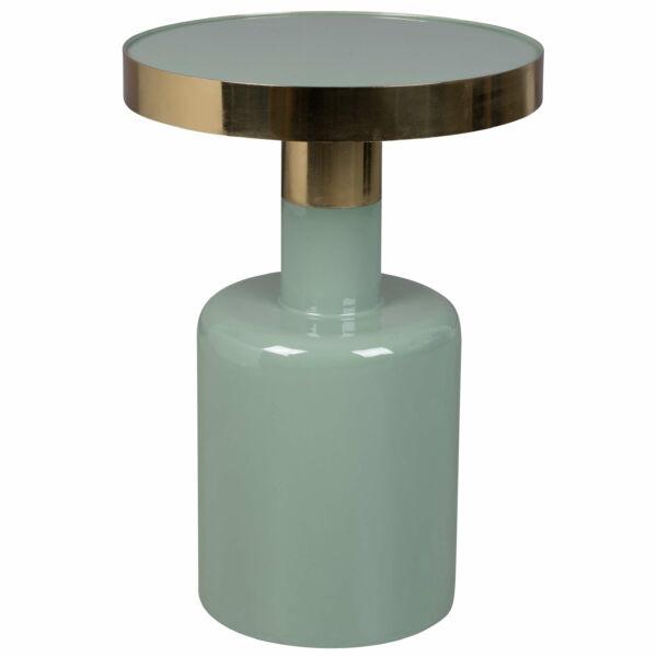 Glam lerakóasztal, zöld