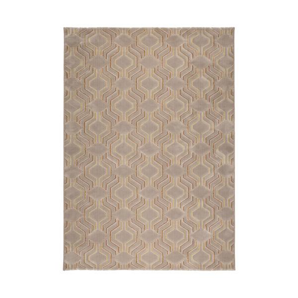 Grace szőnyeg, barna, 200x290cm