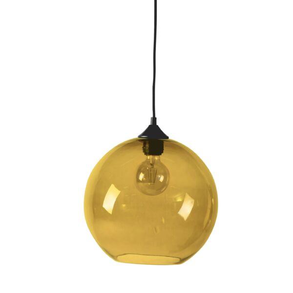 Como függőlámpa, sárga, D30cm