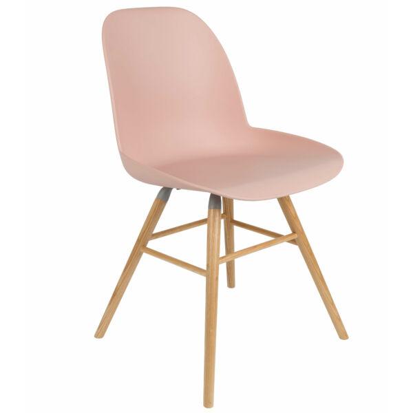 Albert Kuip design étkezőszék, rózsaszín