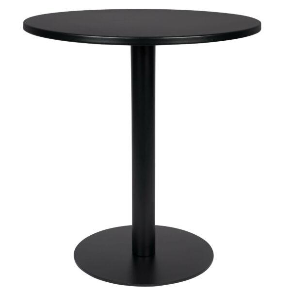 Metsu bisztró asztal, fekete