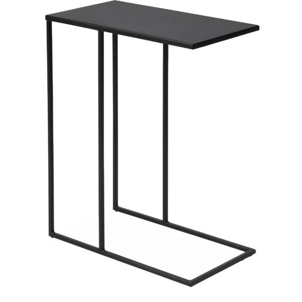 Simply lerakóasztal, fekete fém