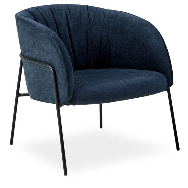 Scandia fotel, sötétkék