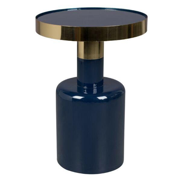 Glam lerakóasztal, kék