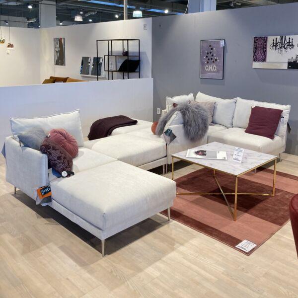 Alva moduláris kanapé, natúr szövet