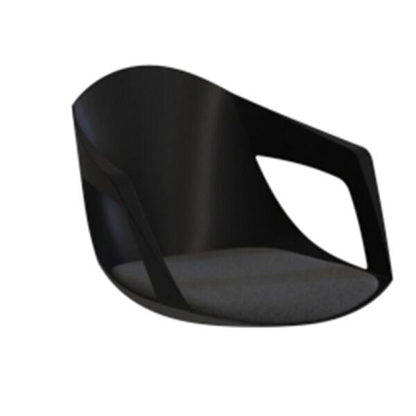 Drop ülőlap, fekete/szürke