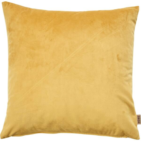 Hedmark párna, 45x45 cm, mustársárga
