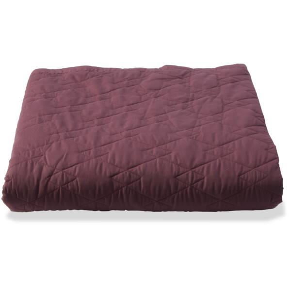 Bayamon ágytakaró, 245x260 cm, burgundy