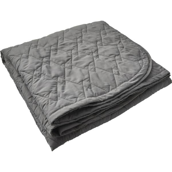 Bayamon ágytakaró, 245x260 cm, szürke