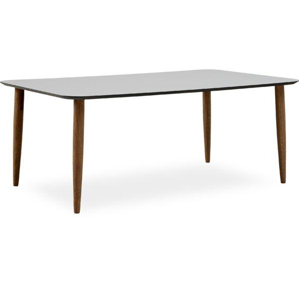 Easy Nano dohányzóasztal, szürke asztallap, füstös tölgy láb
