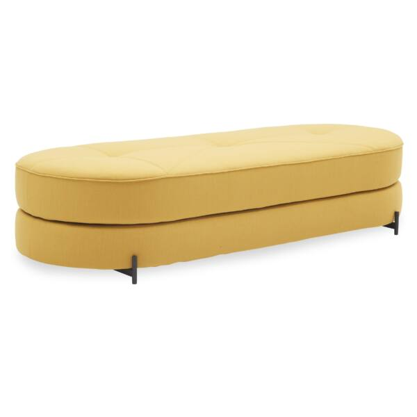 Wilfred ágyazható kanapé, mustársárga szövet