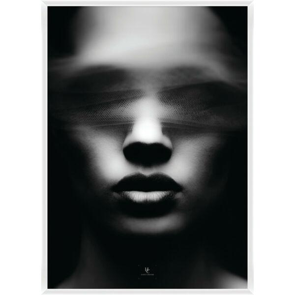 Blinded kép, fehér keret, 70x100cm