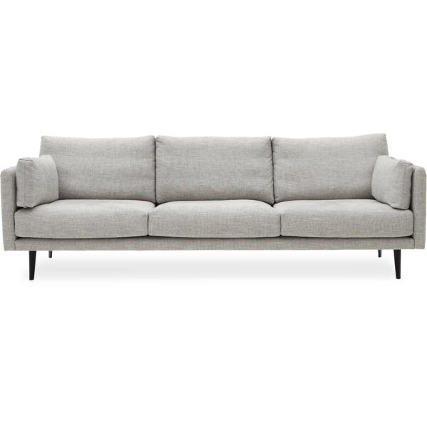 Victor XL 3 személyes kanapé, szürke szövet