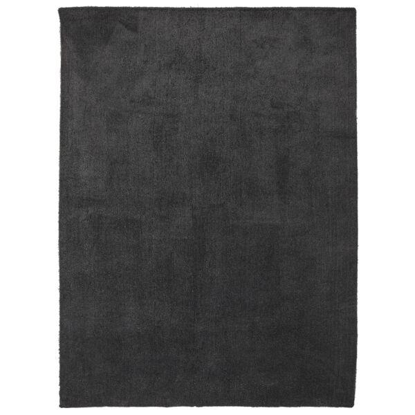 Addie szőnyeg, sötétszürke, 160x230 cm