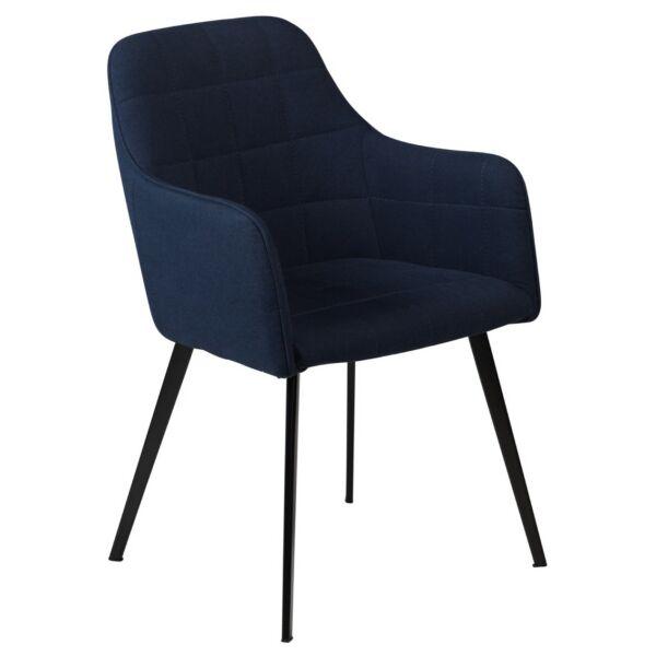 Embrace szék, sötétkék szövet