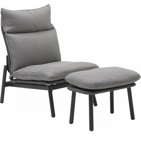 Gorra kerti fotel, világos szürke