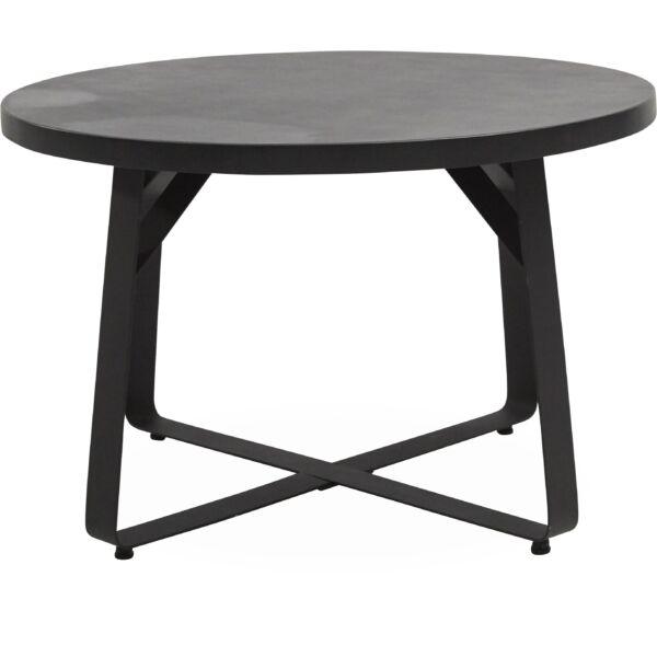 Milford kerti asztal, sötétszürke