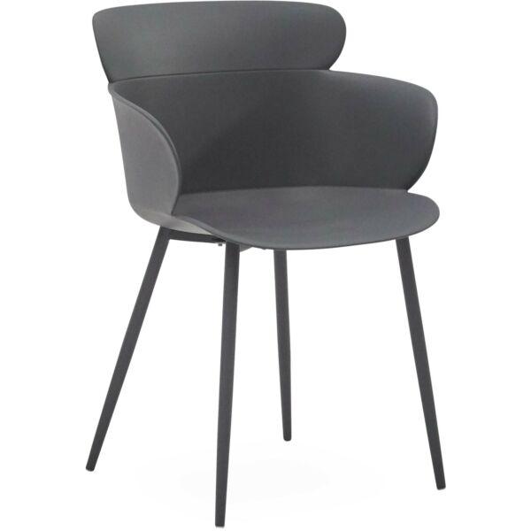 Selva kerti szék, szürke