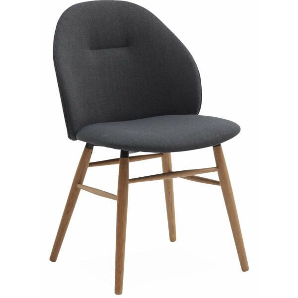 Ashton szék, sötétszürke szövet