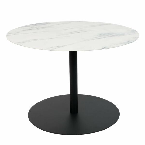 Snow lerakóasztal M, kerek márvány