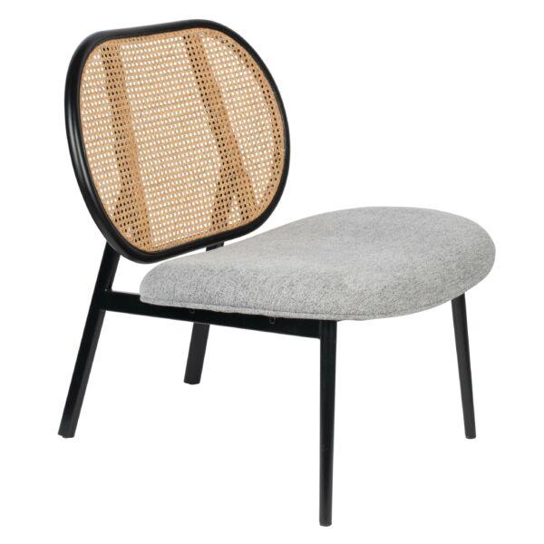 Spike fotel, natúr/szürke