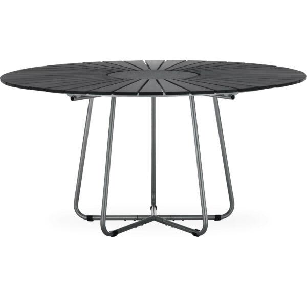 Circle kerti asztal, D150 cm, fekete