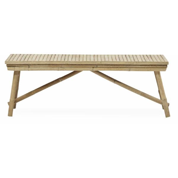 Halong kerti pad, bambusz