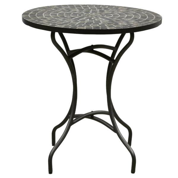 Korsika kerti kisasztal, fekete