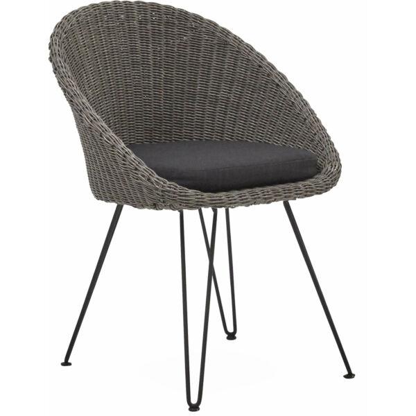 Melgono kerti szék, szürke