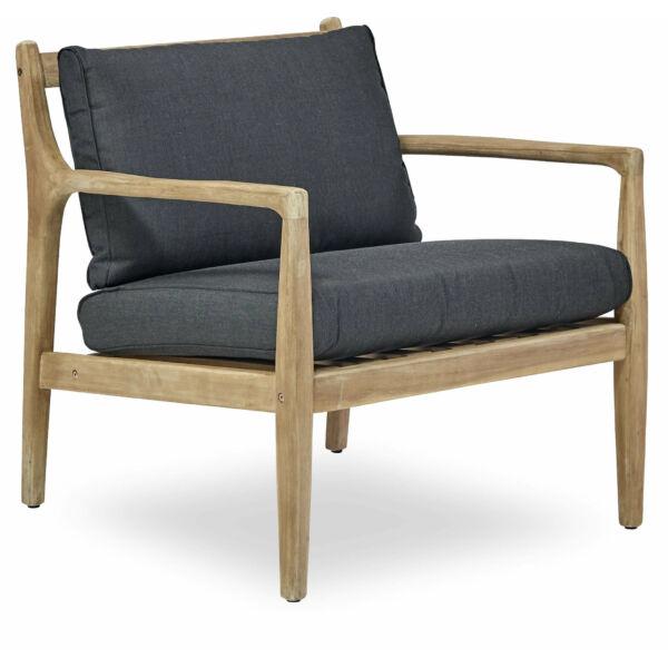 Molini kerti fotel, szürke