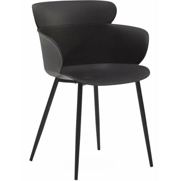 Selva kerti szék, fekete
