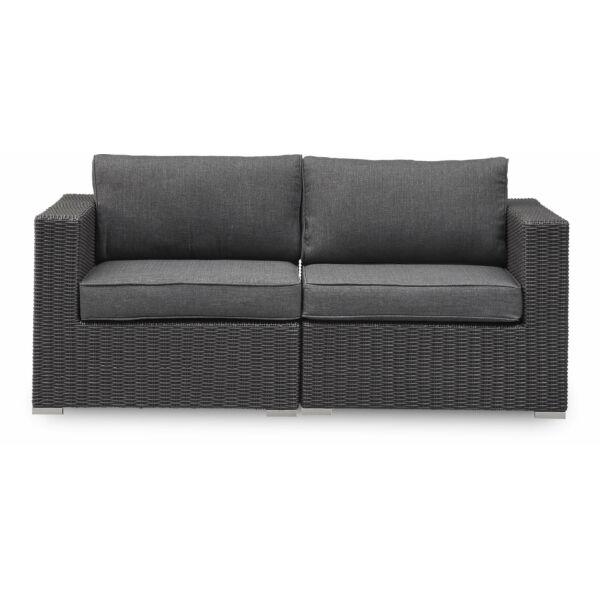 Borgio kerti 2 személyes kanapé, antracit