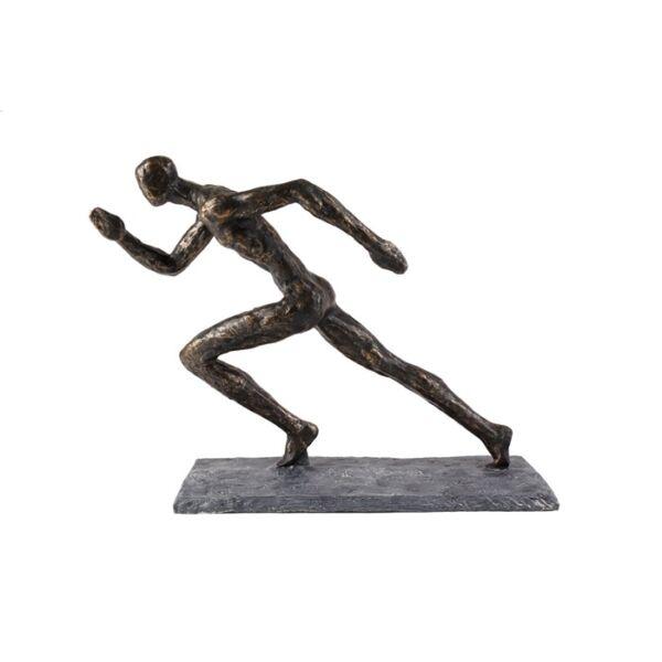 Sprint szobor, antik bronz