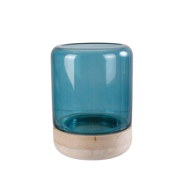 Nordic Wood mécsestartó, kék