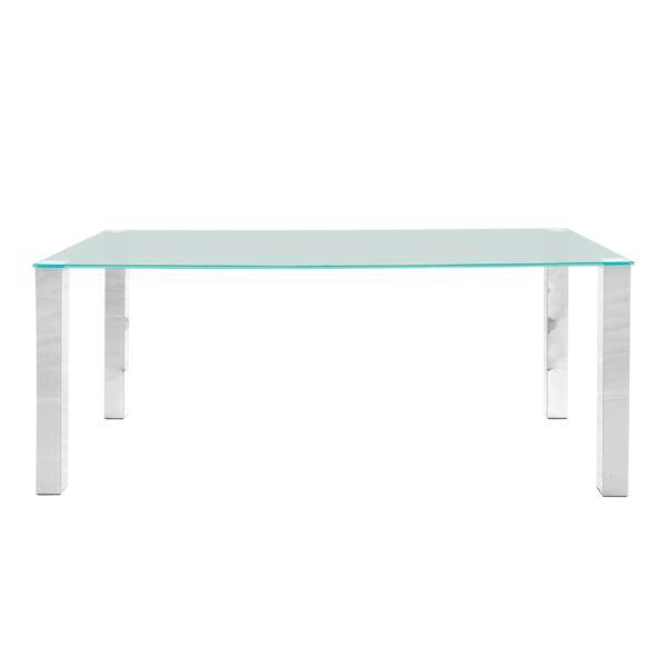 Kante étkezőasztal, üveg, 180 cm