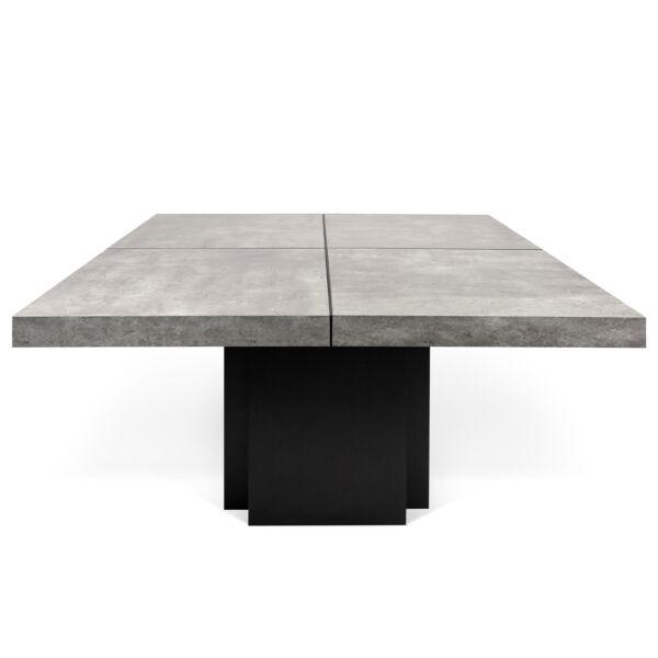Dusk étkezőasztal, beton hatású, 130 cm