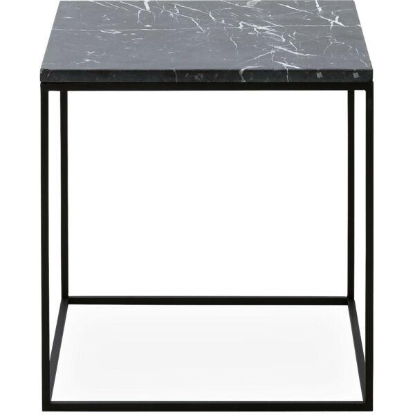 Square dohányzóasztal 40, fekete márvány