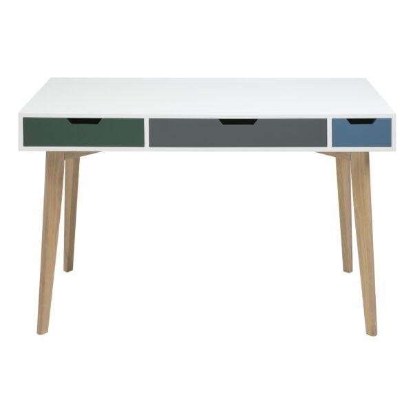 Tess íróasztal, fehér