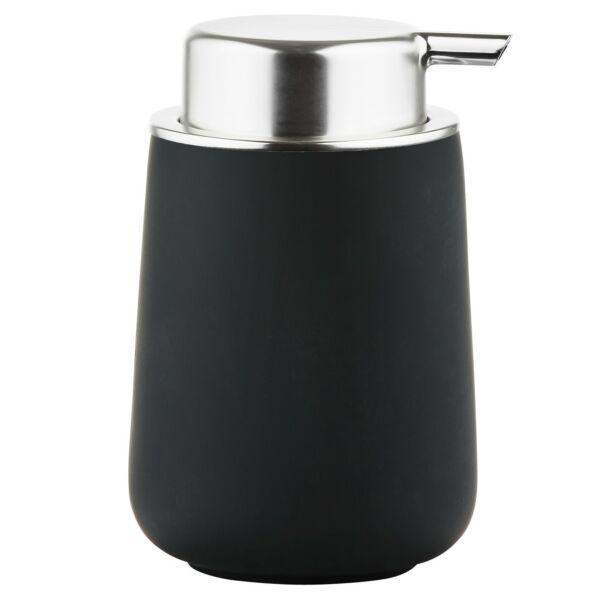 Nova szappanadagoló, fekete porcelán