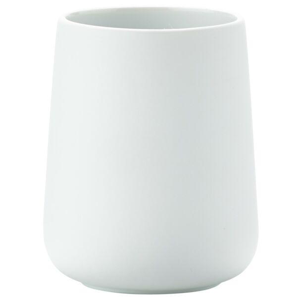 Nova fogmosópohár, fehér porcelán