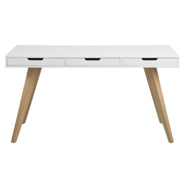 Estelle íróasztal, matt fehér