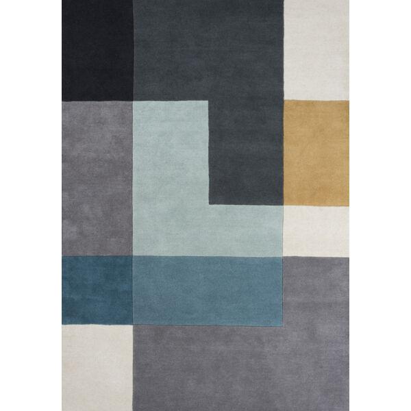 Tetris szőnyeg aqua, 140x200cm