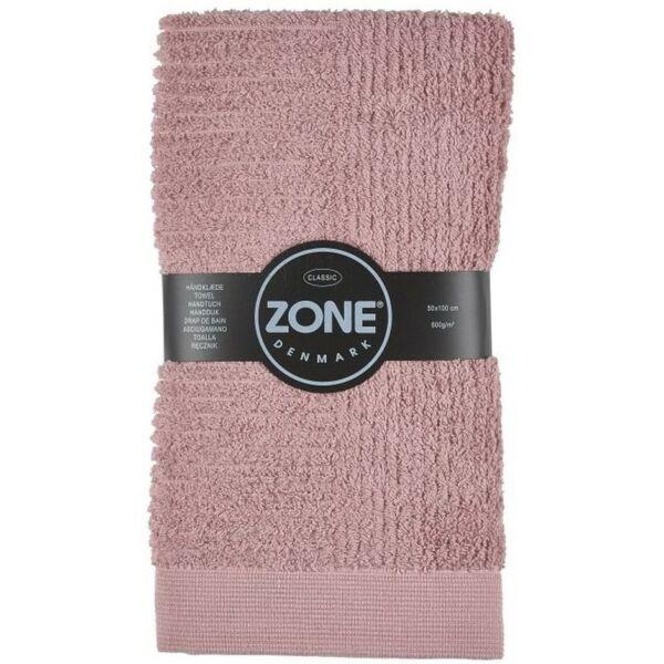 Törölköző, rózsaszín, 50x100cm
