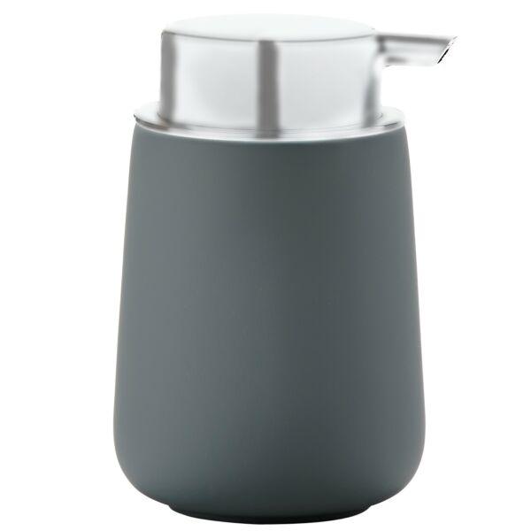 Nova szappanadagoló, szürke porcelán