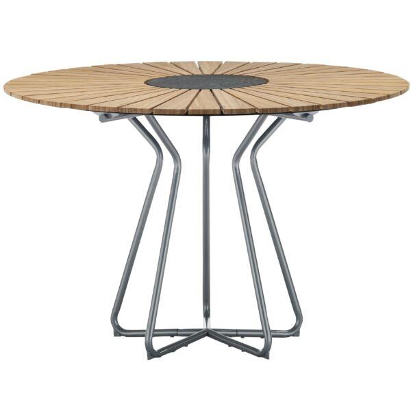 Circle asztal, bambusz, D110 cm