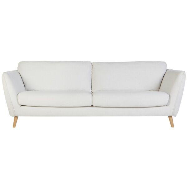 Stella 2 személyes kanapé, natúr szövet
